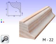M-22. Cornisa/encofrar