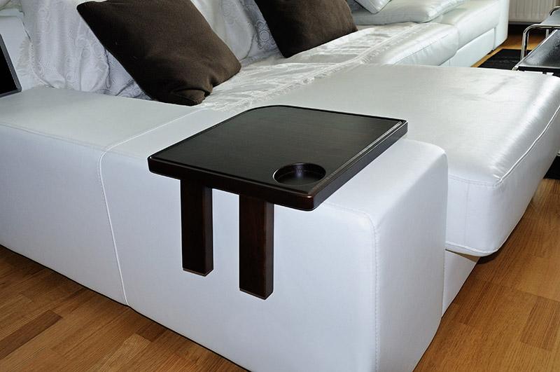 Bandeja reposabrazos para sof percheros tapas para - Sofas con madera ...